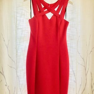 Great fitting red dress by Guess.